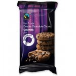 Traidcraft Fairtrade Double Chocolate Chunk Cookies 180g
