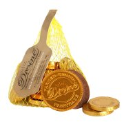 Divine Fairtrade Milk Chocolate Coins 75g