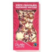 Plush Raspberry Rapture White Chocolate Bar 110g