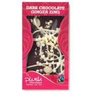 Plush Ginger Zing Dark Chocolate Bar 110g