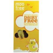 Moo Free Dairy Free Banana Chocolate Bar 100g