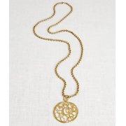 La Jewellery Recycled Brass Turkish Necklace