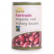 Suma Fairtrade Organic Red Kidney Beans 400g