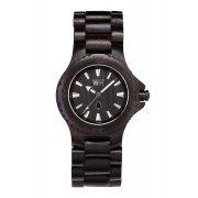 WeWOOD Date Black Wooden Watch