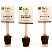 Cocoa Loco Hot Chocolate Spoon - Dark 30g