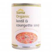 Suma Organic Lentil & Courgette Soup 400g