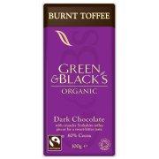 Green & Blacks Dark Chocolate with Burnt Toffee 100g