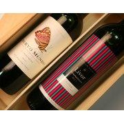 Nuevo Mundo Carmenere & Rioja Livor Red Wine Gift set