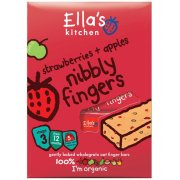 Ella's Kitchen Nibbly Fingers - Strawberry & Apple (pk of 5)