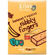 Ella's Kitchen Nibbly Fingers - Banana & Raisin (pk of 5)