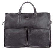 Matt & Nat Vegan Soren Briefcase Bag - Black