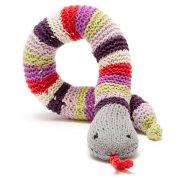 Fair Trade Crocheted Snake Rattle
