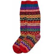 Hand Knitted Multi-Colour Socks