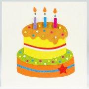 Traidcraft Handmade Birthday Cake Card