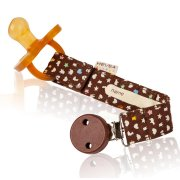 Hevea Organic Cotton Soother & Toy Holder