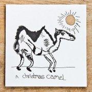 Camel Christmas Card