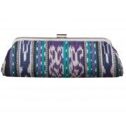 Traidcraft Bali Ikat Clutch Bag