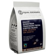 Equal Exchange Organic Sumatran Takengon Whole Coffee Beans - 227g