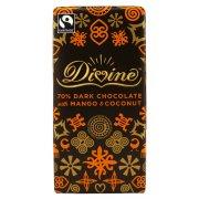 Divine Dark Chocolate with Mango & Coconut - 100g