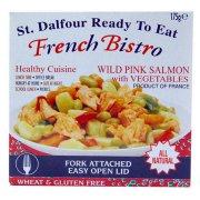 St Dalfour French Bistro Wild Pink Salmon & Vegetables - 175g