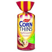 Real Foods Soy Linseed Corn Thins - 150g