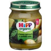 HiPP Organic Cheesy Spinach & Potato Bake - 4m+ - 125g