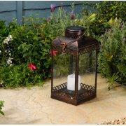Smart Solar Tangier Lantern