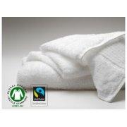 Fair Trade & Organic White Bath Mat