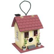 Yellow Summer Fun Bird House