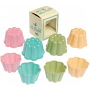 Set of 4 Traditional Pantry Design Jelly Moulds