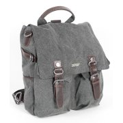 Hemp Rucksack Shoulder Bag  - Grey