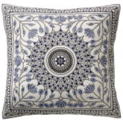 Bangla Embroidered Cushion Cover