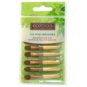 Eco Tools 6 x Mini Bamboo Brushes