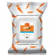 Yes To Carrots - Fragrance Free Gentle Cleansing Wipes - 25 pack