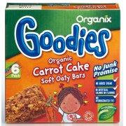Organix Carrot Cake Soft Oaty Bars - 6x30g