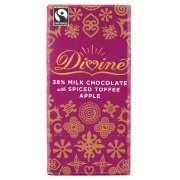 Divine Limited Edition Milk Chocolate with Spiced Toffee Apple 100g