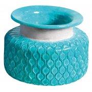 Aqua Sea Amari Textured Vase