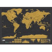 Scratch Map - Deluxe Edition