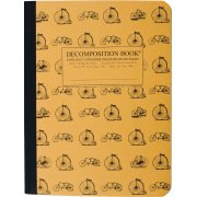 Decomposition Ruled Notebook - Vintage Bicycles