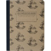 Decomposition Ruled Notebook - Coffee Cups