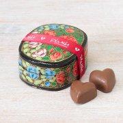 Milk Chocolate Caramel Hearts - 50g