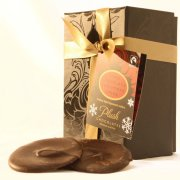 Christmas Spice Delicate Wafer Thin Dark Chocolates - 140g