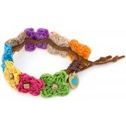 Believer Kids One Love Knitted Flower Bracelet
