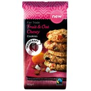 Traidcraft Fairtrade Chewy Fruit & Oat Cookies - 180g