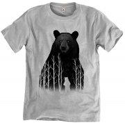 Rapanui Organic Cotton Men's Bear in the Woods T-shirt