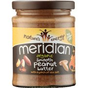 Meridian Organic Peanut Butter Smooth with Salt - 280g