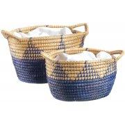 Woven Baskets - Set of 2
