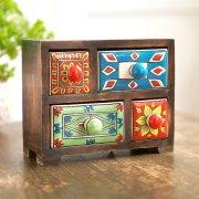 Handpainted Ceramic Drawers