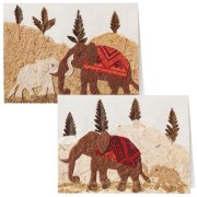 Traidcraft Elephant Cards - Pack of 2