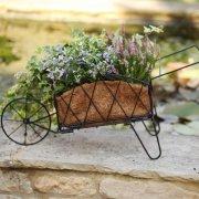 Smart Garden Traditional Metal Wheelbarrow Planter